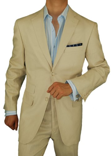Bianco Brioni Suit In Beige Linen Review Modern Man