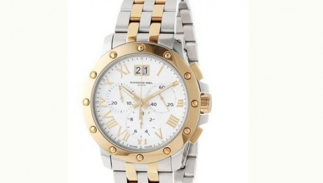 Raymond-Weil-Mens-4899-STP-00308-Tango-Gold-and-Steel-White-Chronograph-Watch